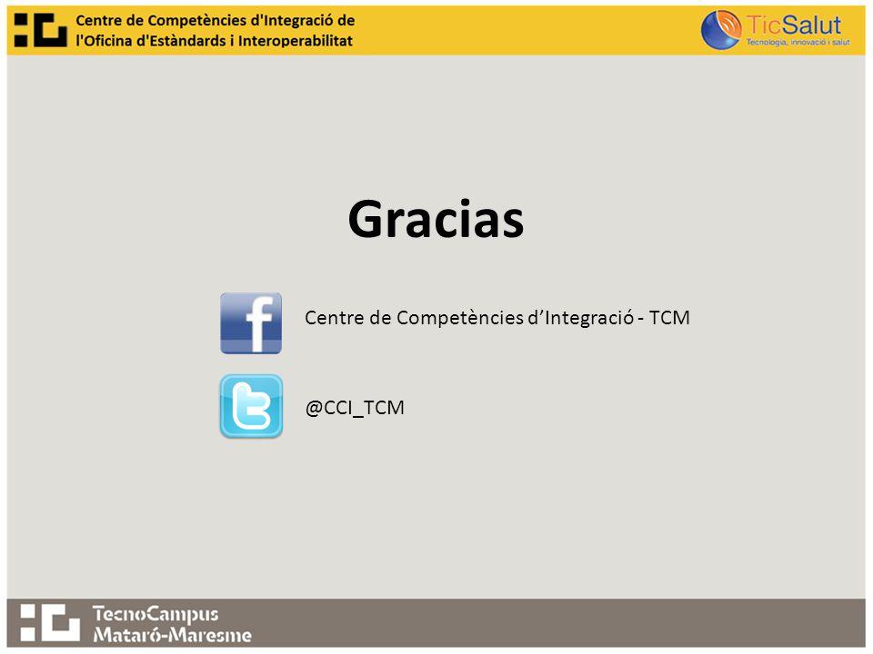 Gracias Centre de Competències dIntegració - TCM @CCI_TCM