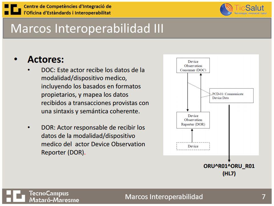 Marcos Interoperabilidad III 7Marcos Interoperabilidad
