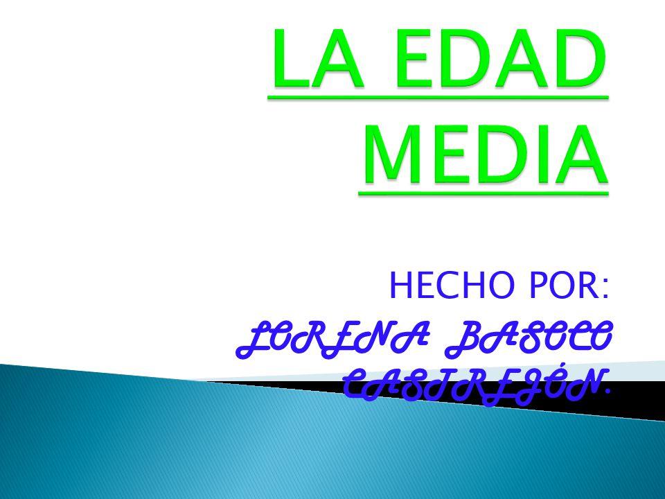 HECHO POR: LORENA BASOCO CASTREJÓN.