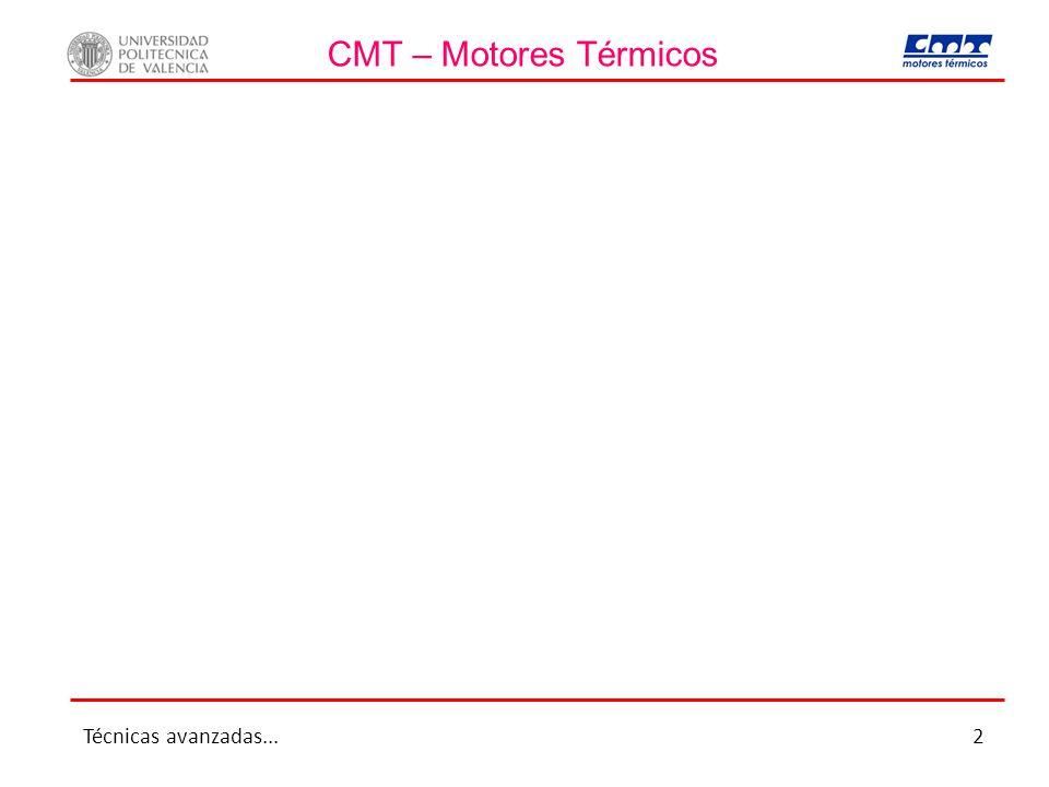CMT – Motores Térmicos Técnicas avanzadas...2