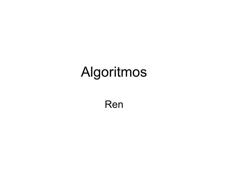 Algoritmos Ren