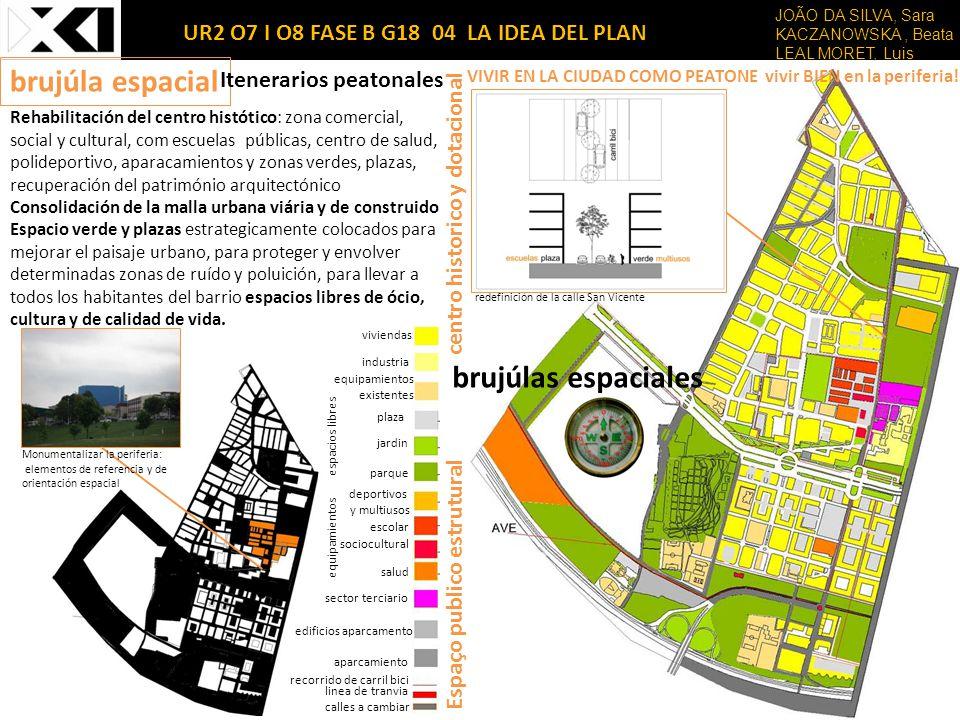 Rehabilitación del centro histótico: zona comercial, social y cultural, com escuelas públicas, centro de salud, polideportivo, aparacamientos y zonas