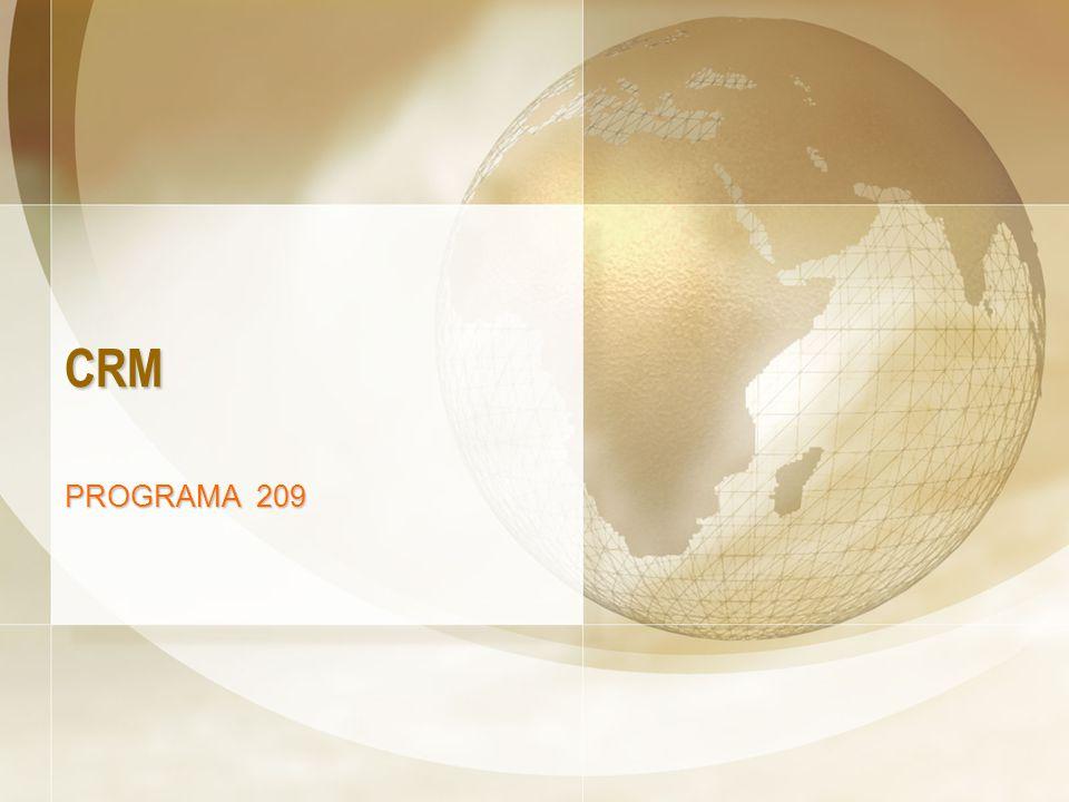 www.apascual.net CRM12 Características del Programa Absolutamente práctico al tratarse de un taller y se basa en la resolución de un ejercicio práctico Se trata de un Programa de formación adaptado a la necesidad de los alumnos, comerciales, responsables de departamento comercial y ventas, responsables de marketing, gerentes, etc.