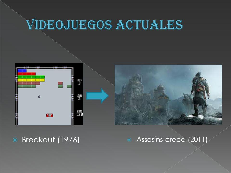 Assasins creed (2011) Breakout (1976)