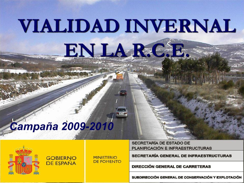 VIALIDAD INVERNAL EN LA R.C.E. Campaña 2009-2010