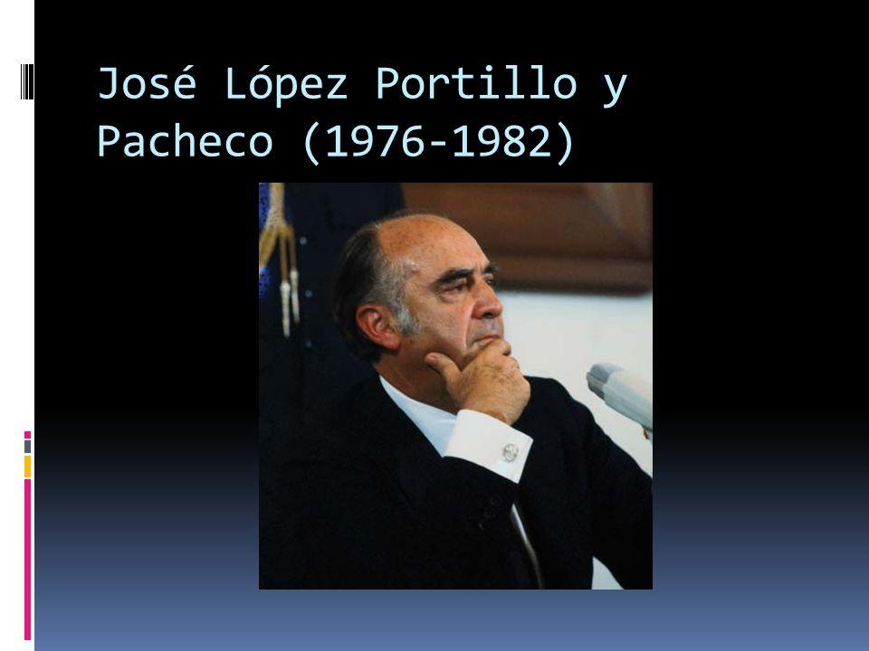 José López Portillo seria el primer Secretario de Hacienda en convertirse en Presidente de México.