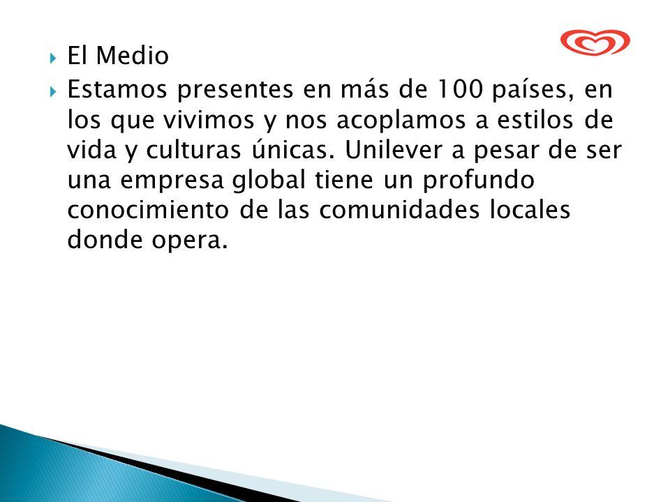 El Medio Estamos presentes en más de 100 países, en los que vivimos y nos acoplamos a estilos de vida y culturas únicas.