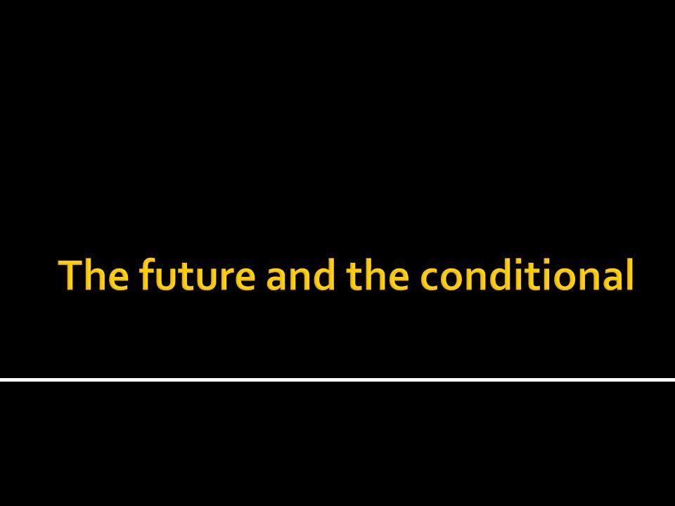 The future tense The future tense of all regular -ar, -er, or -ir verbs is formed by adding the same set of endings to the infinitive: -é, -ás, -á, -emos, -éis, -án ¿Irás a Guatemala con la profesora Falcón.