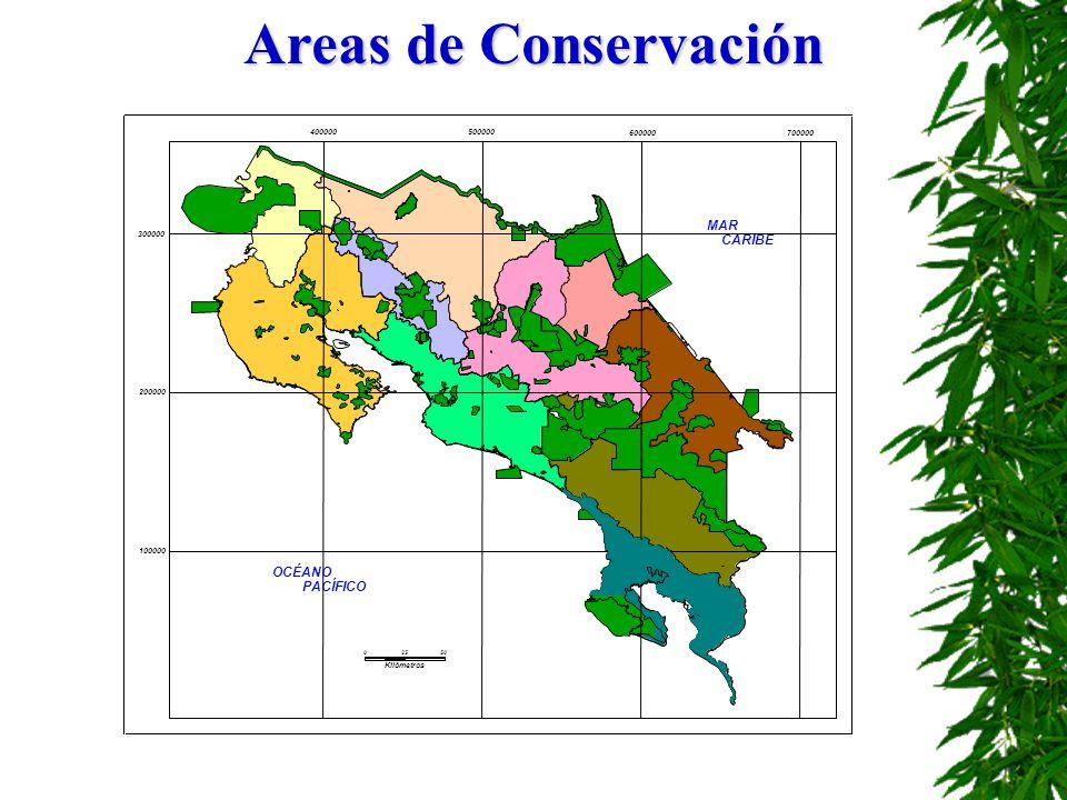 Areas de Conservación