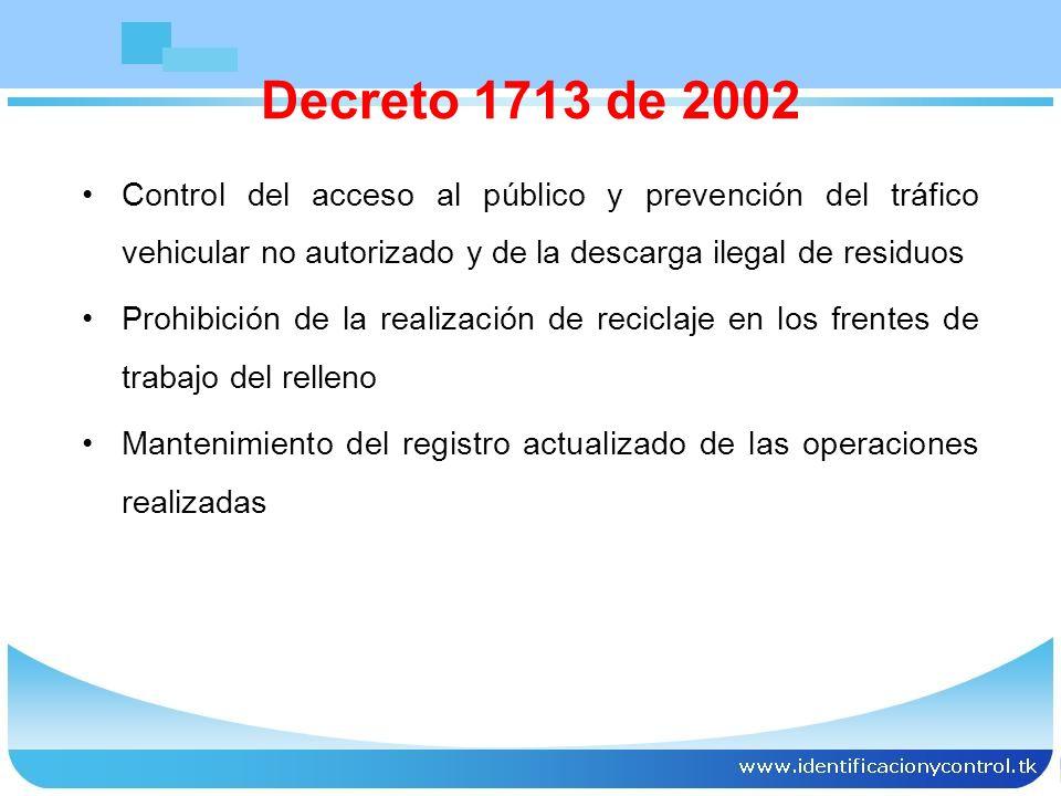 Deberes y derechos de las entidades prestadoras en el servicio Calidad No suspensión Uniformidad Descuentos por fallas Facturación y cobro oportunos Decreto 1713 de 2002