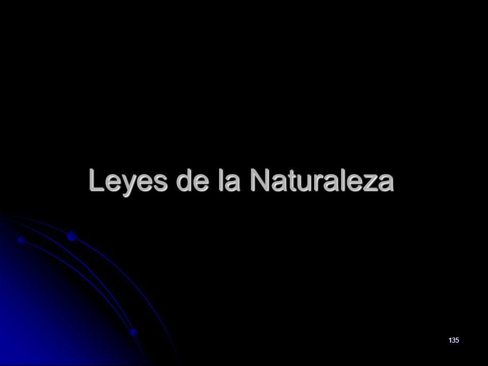 135 Leyes de la Naturaleza