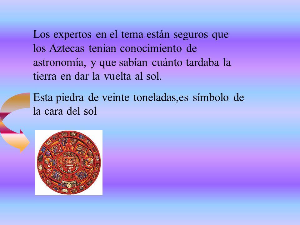 Los Aztecas escribían, leían dejando constancia de su historia y sus tradiciones en libros escritos a mano. Los códigos consistían en una tira de pape