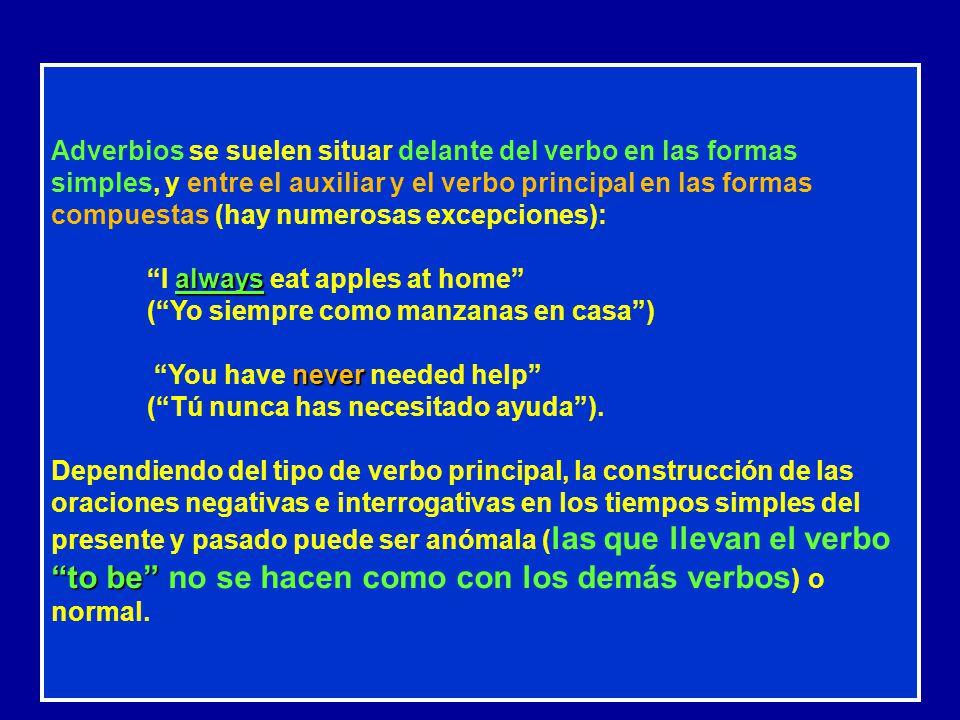 LA ESTRUCTURA DE LA ORACIÓN SIMPLE EN INGLÉS La oración inglesa tiene, al igual que en castellano, dos partes: sujeto y predicado. La parte más import