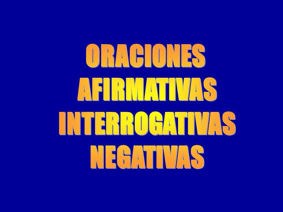 Adverbios se suelen situar delante del verbo en las formas simples, y entre el auxiliar y el verbo principal en las formas compuestas (hay numerosas e