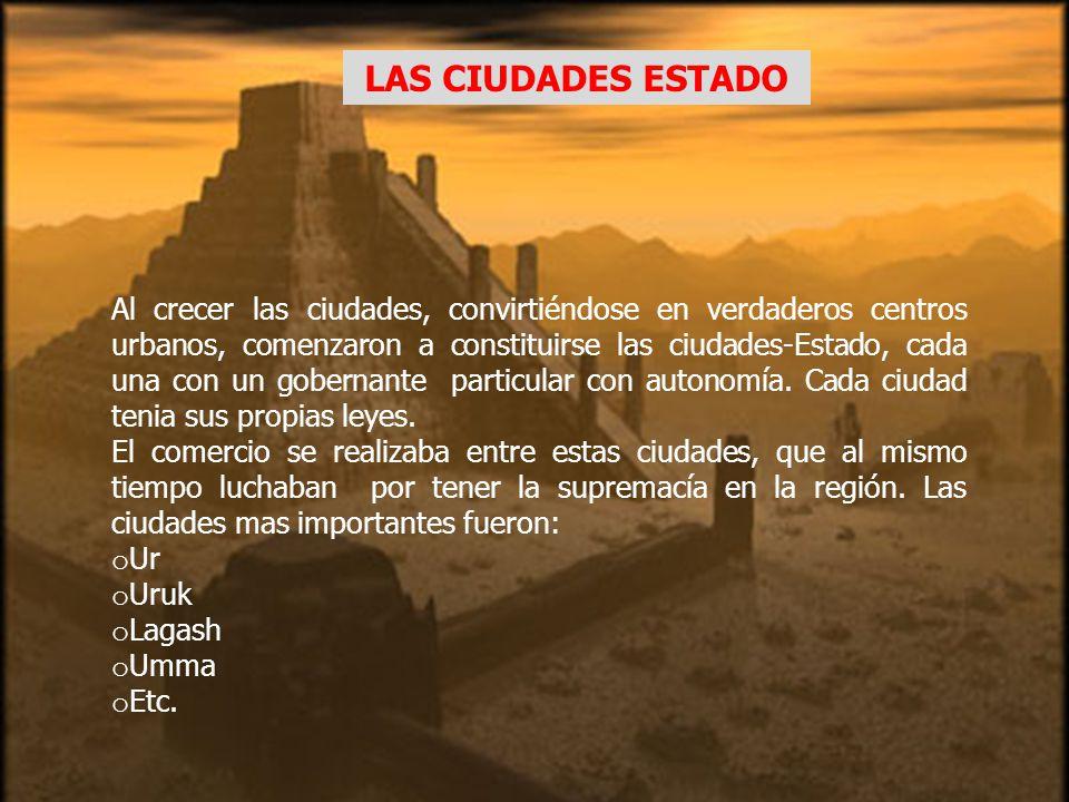 UBICACIÓN GEOGRAFICA Establecido en la baja Mesopotamia, el pueblo sumerio articulo la primera civilización de la región a partir de prosperas ciudade