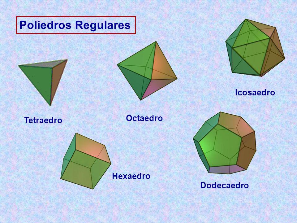 Poliedros Regulares Tetraedro Hexaedro Icosaedro Octaedro Dodecaedro