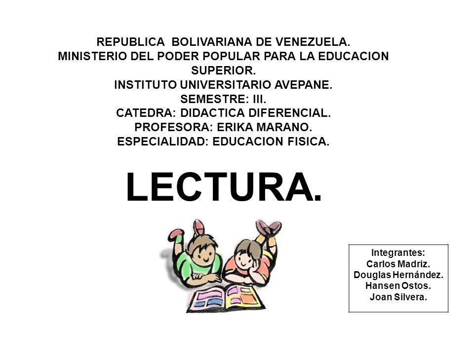 REPUBLICA BOLIVARIANA DE VENEZUELA. MINISTERIO DEL PODER POPULAR PARA LA EDUCACION SUPERIOR. INSTITUTO UNIVERSITARIO AVEPANE. SEMESTRE: III. CATEDRA: