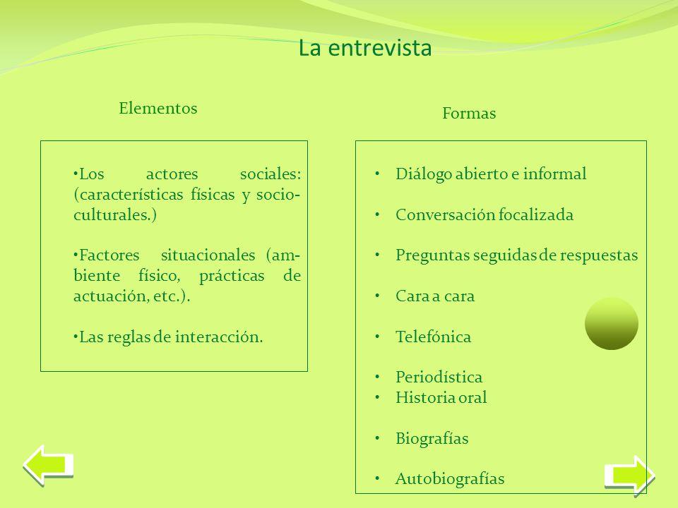 La entrevista Limitaciones Factor tiempo.Problemas potenciales de fiabilidad y validez.