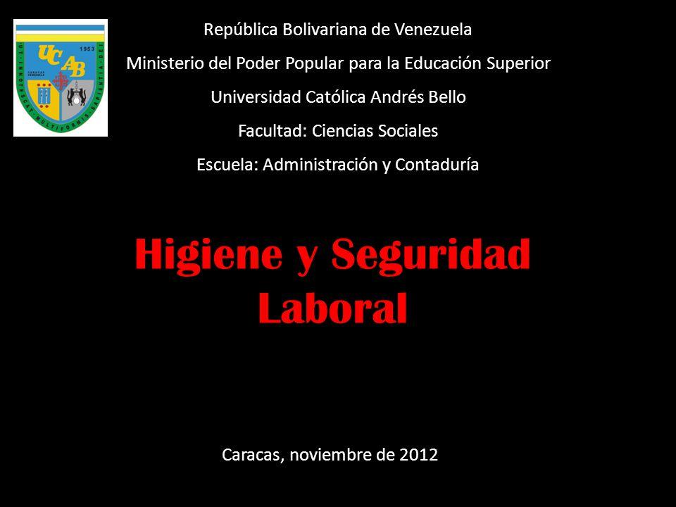 República Bolivariana de Venezuela Ministerio del Poder Popular para la Educación Superior Universidad Católica Andrés Bello Facultad: Ciencias Social