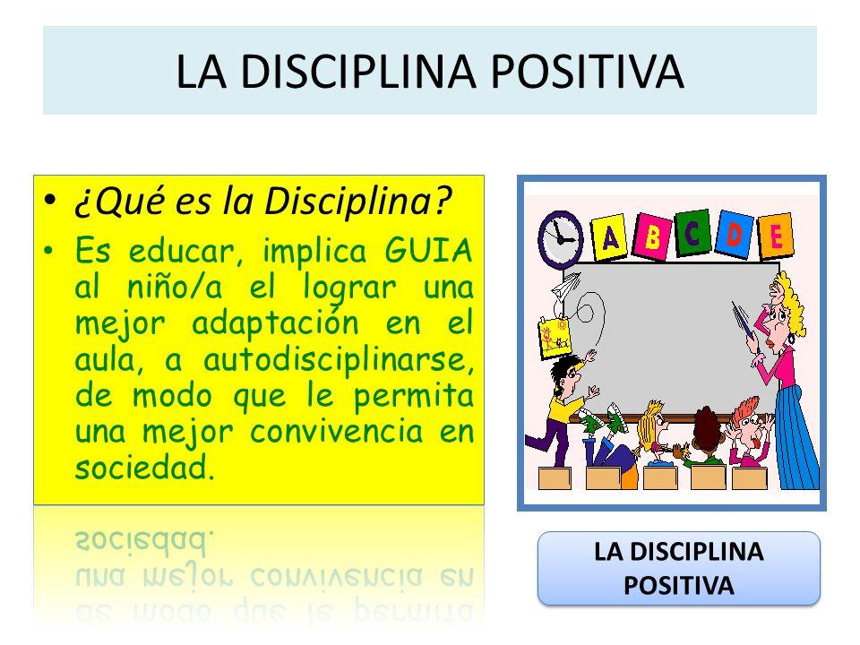 Formas de entender la disciplina: La disciplina como autocontrol.