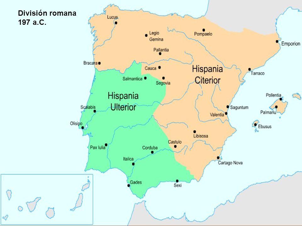 División romana 197 a.C.