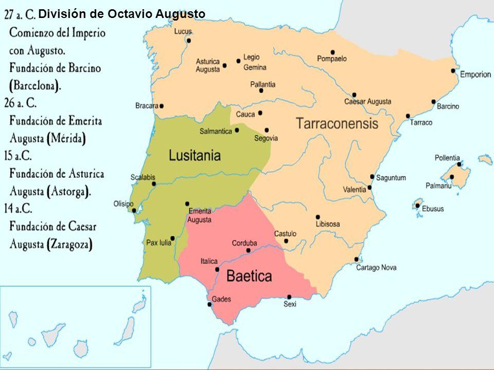 División de Octavio Augusto