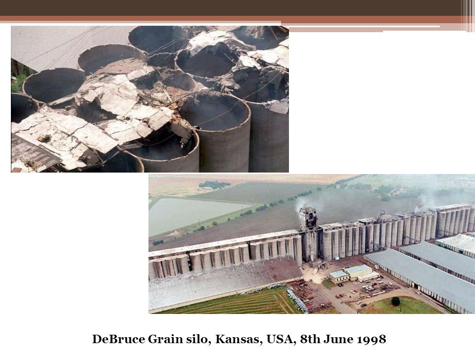 DeBruce Grain silo, Kansas, USA, 8th June 1998