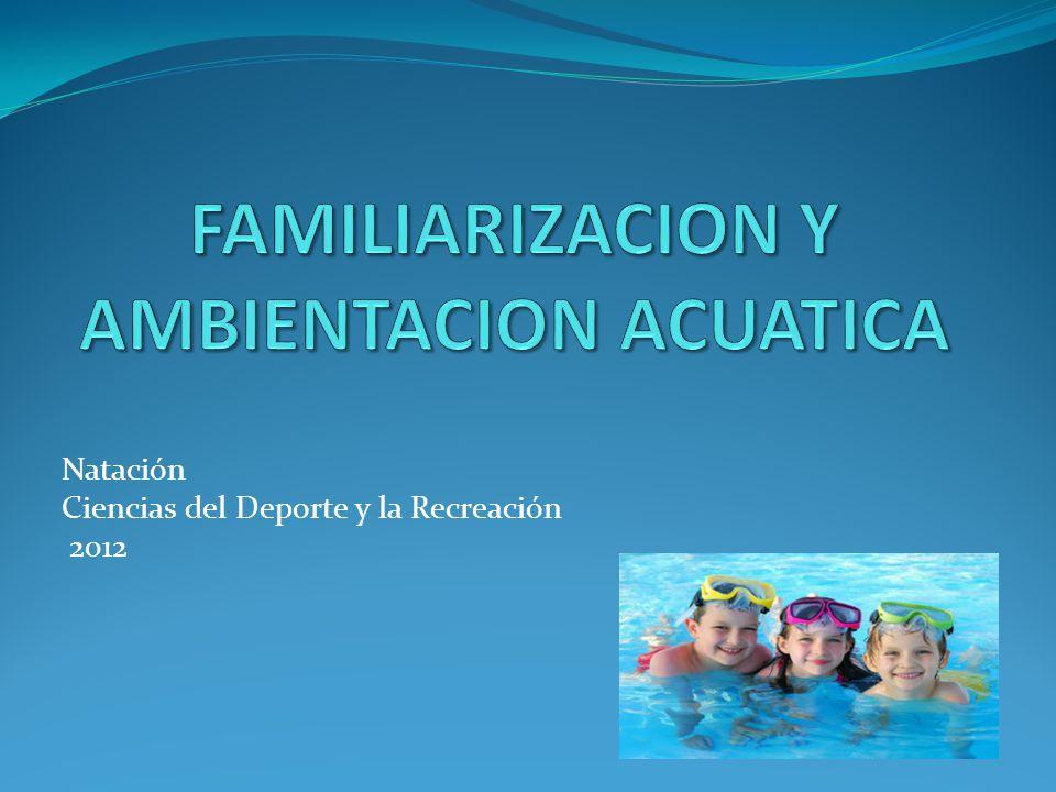 Natación Ciencias del Deporte y la Recreación 2012
