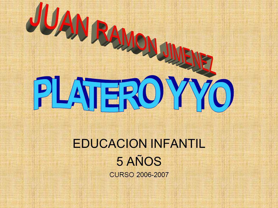 EDUCACION INFANTIL 5 AÑOS CURSO 2006-2007