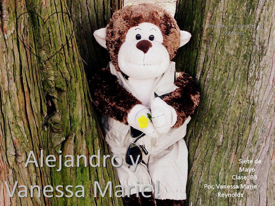 Por, Vanessa Marie Reynolds Alejandro y Vanessa Marie.