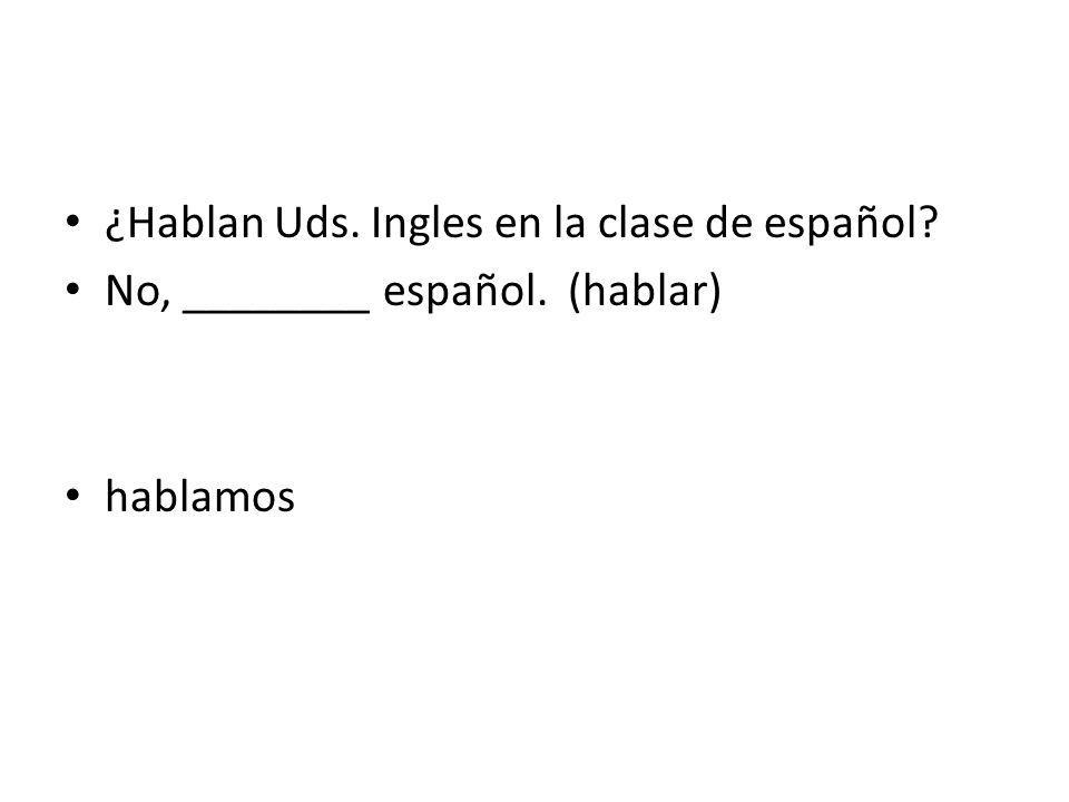 Tu ______ hablar español. A. puedoc. Puede B. Puedend. Puedes puedes