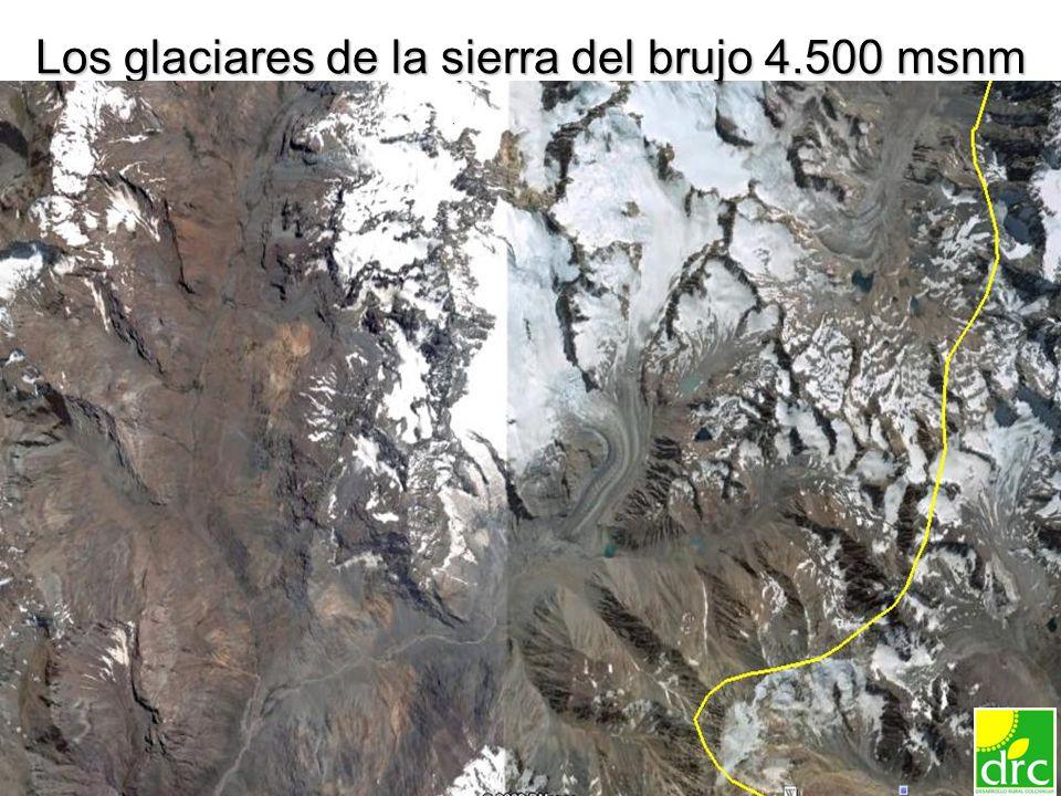 11 Los glaciares de la sierra del brujo 4.500 msnm