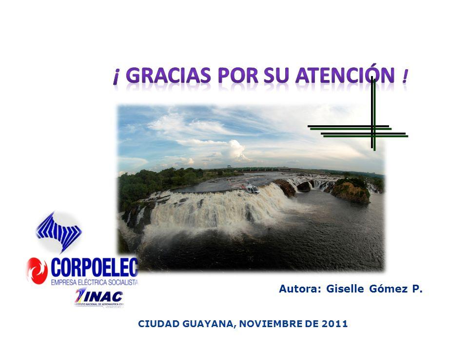 Autora: Giselle Gómez P. CIUDAD GUAYANA, NOVIEMBRE DE 2011