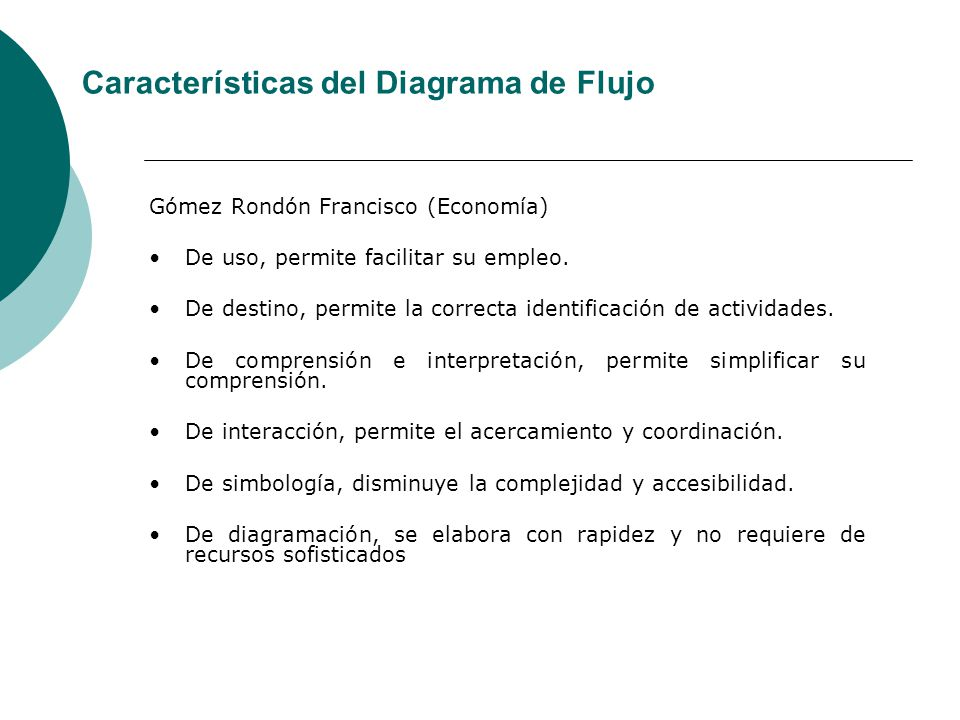 Gómez Rondón Francisco (Economía) De uso, permite facilitar su empleo. De destino, permite la correcta identificación de actividades. De comprensión e