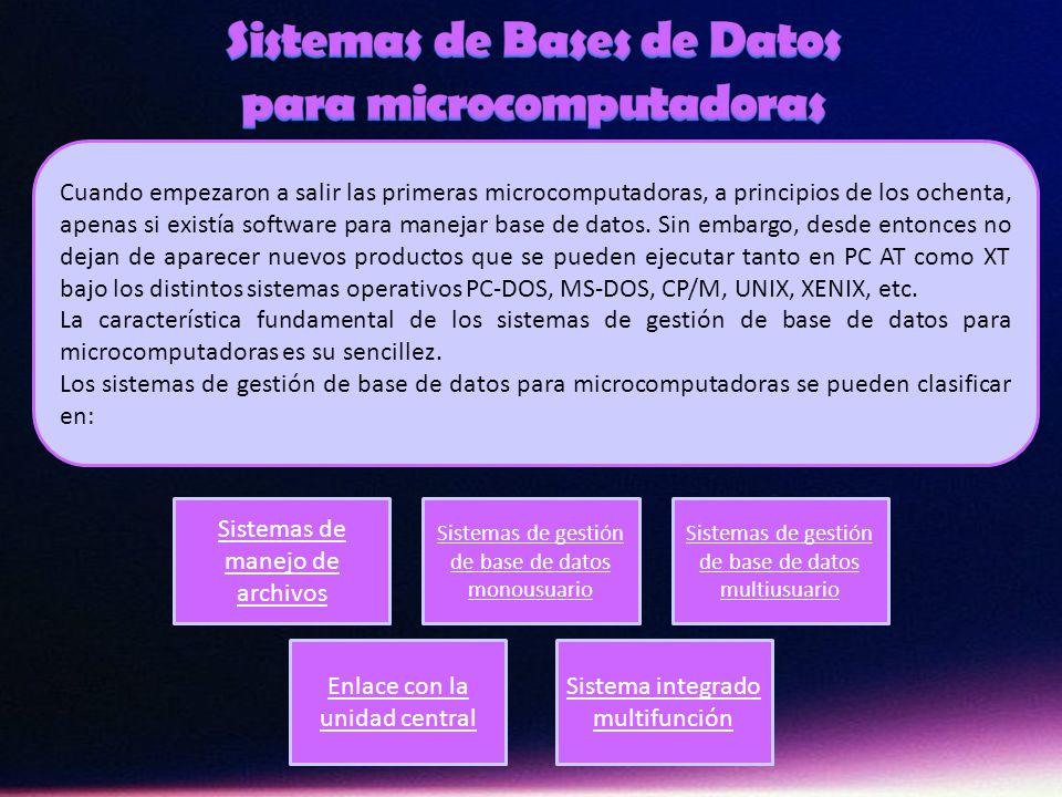 Uno de los sistemas de gestión de base de datos jerárquica más populares es el Information Management System (IMS) de IBM, introducido en 1968.