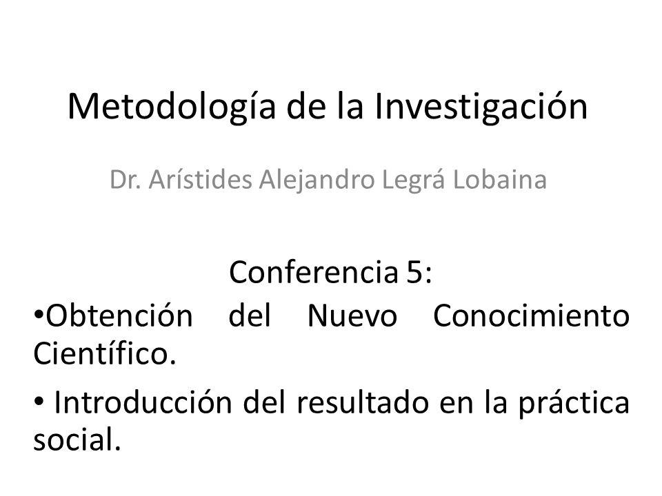 Metodología de la Investigación Dr.