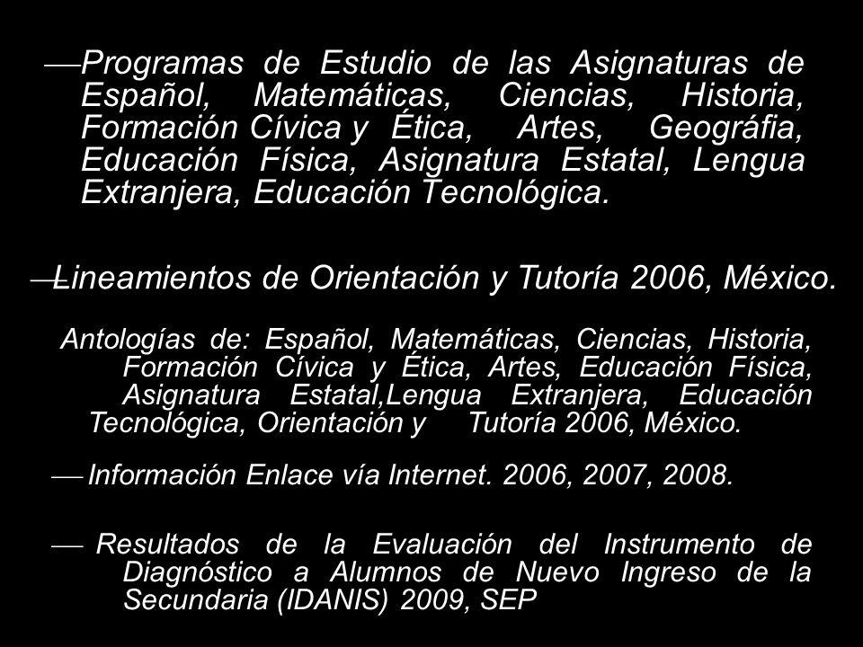 Proyecto de Atención y Mejoramiento Escolar de las Escuelas Secundarias Técnicas (PAMEEST 2009-2010), Dirección de Educación Secundaria, Consejo Técnico Escolar, Puebla, Pue julio 2009.