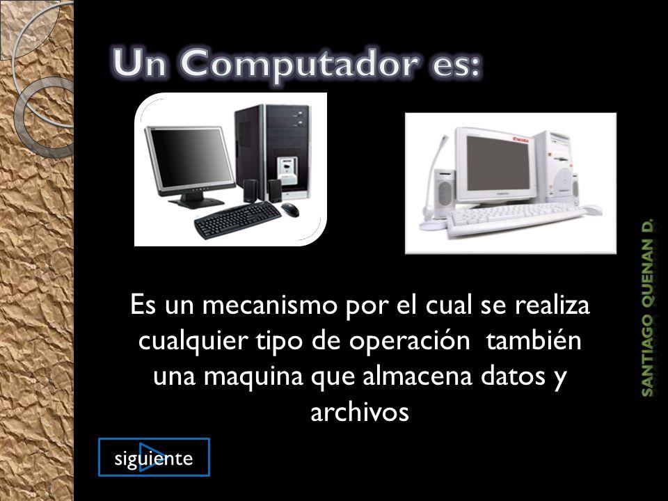 Estos eran el en pasado Estos son en el presente Estos serán en el futuro El Computador anterior Pasado presente y futuro