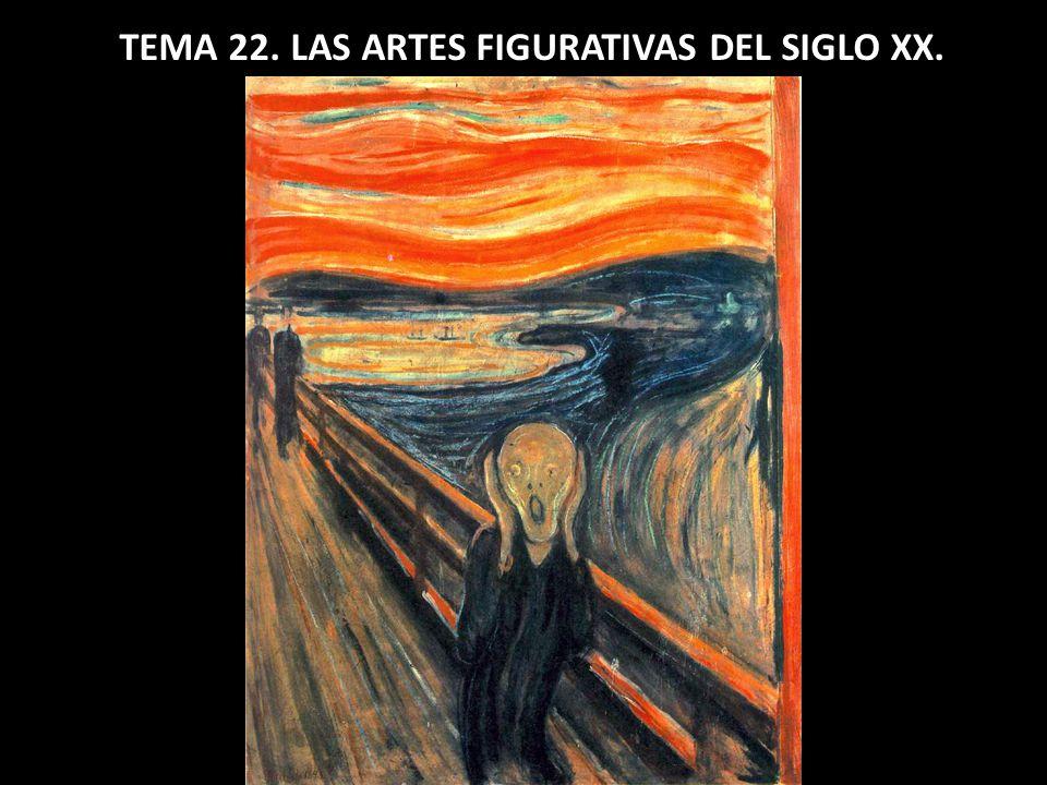 TEMA 22. LAS ARTES FIGURATIVAS DEL SIGLO XX.