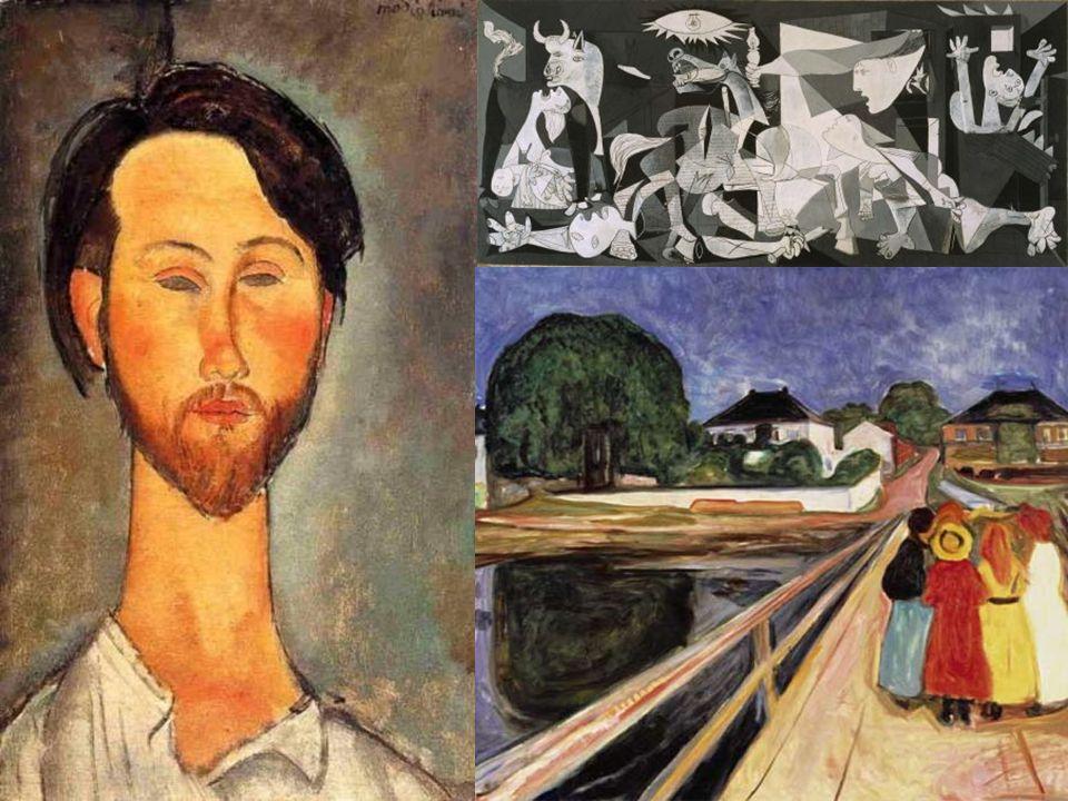 c) El expresionismo.-Grupo Die Brücke de Dresde. -Denominado El Puente.