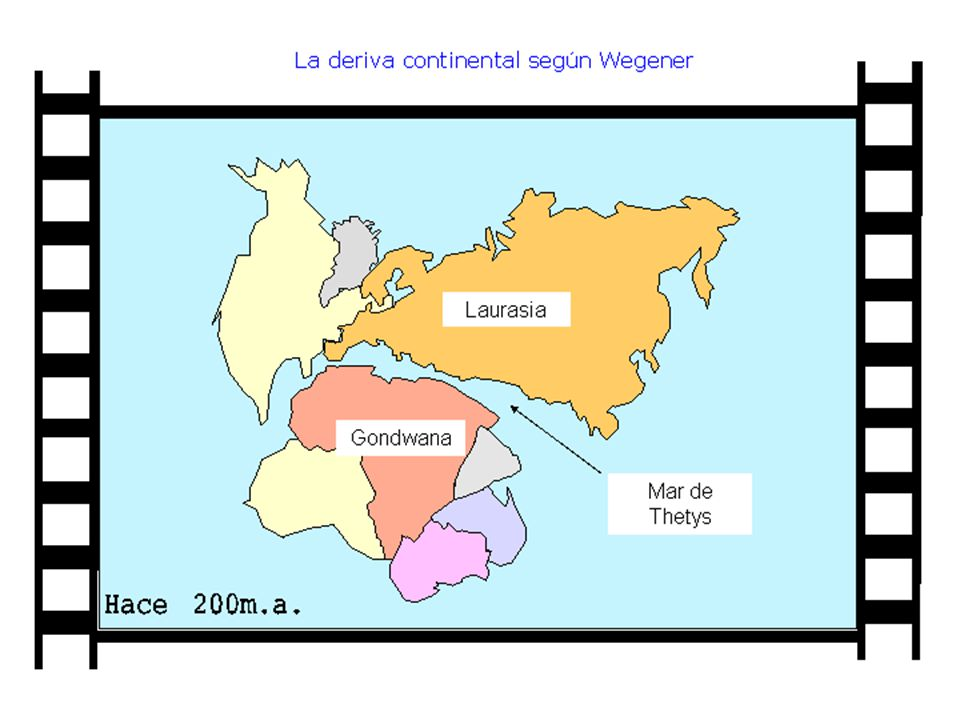 Posteriormente A.del Norte se separa de Laurasia, al igual que A.