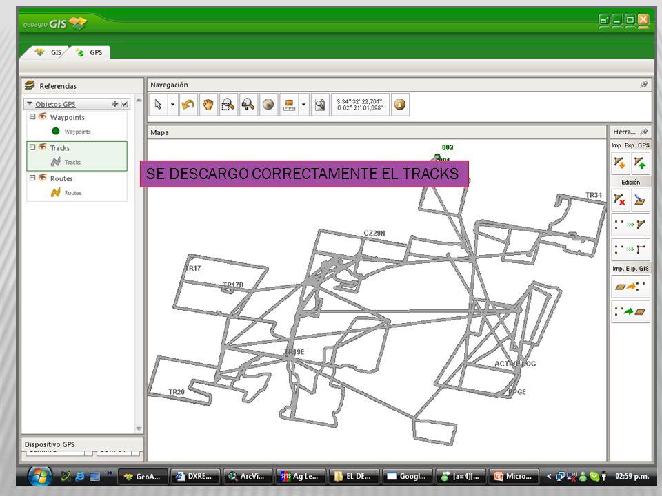 Para importar al módulo GIS o sea al Proyecto