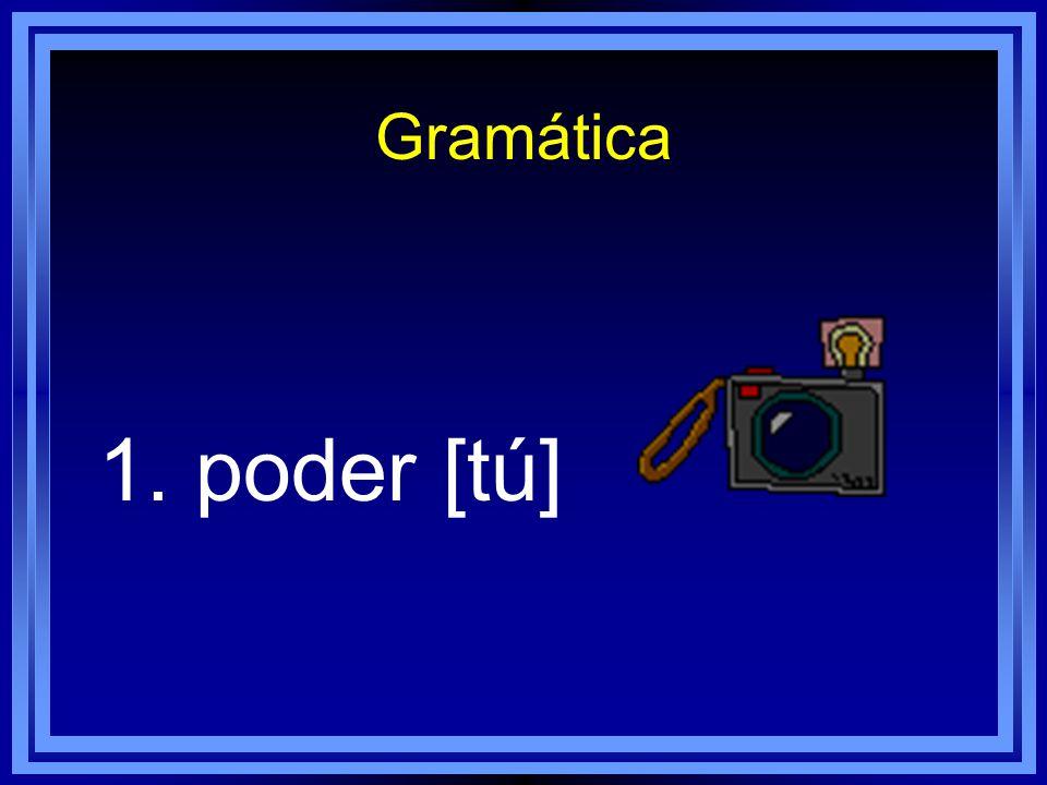 Gramática Escribe frases en español con estos verbos o expresiones.