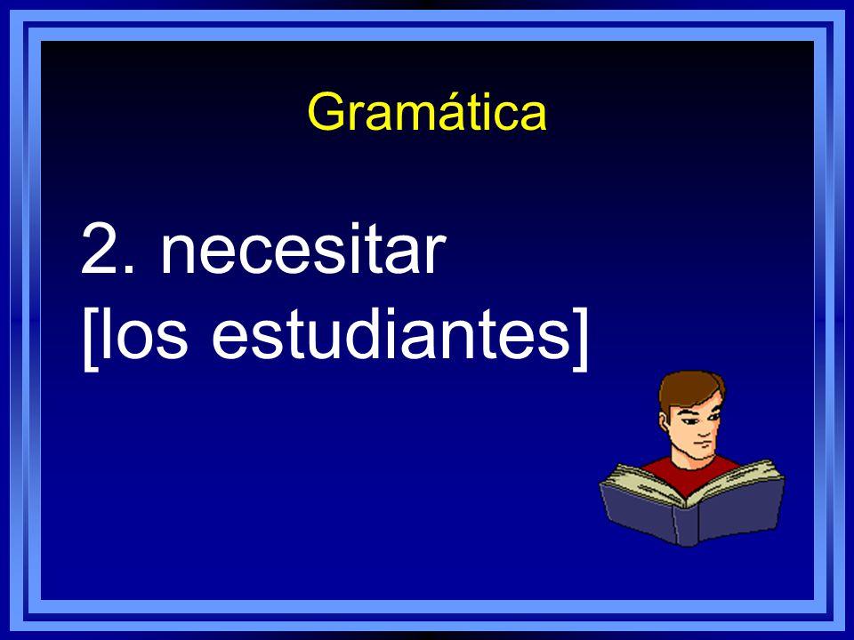 Gramática 1. poder [tú]