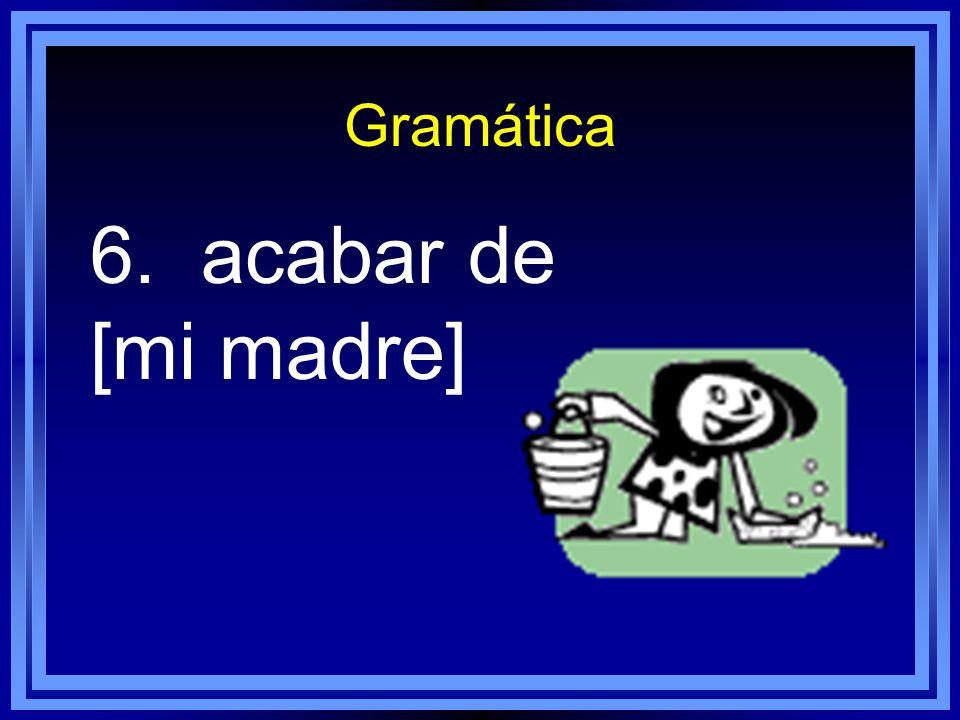 Gramática 5. pensar [Uds. ]