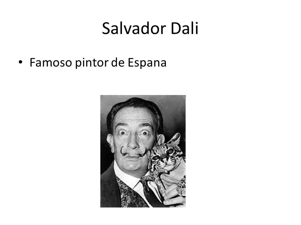 Salvador Dali Famoso pintor de Espana