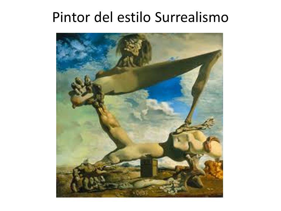 Pintor del estilo Surrealismo