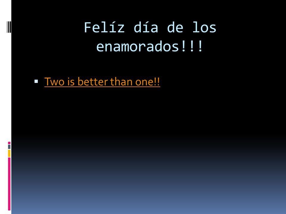 Felíz día de los enamorados!!! Two is better than one!!