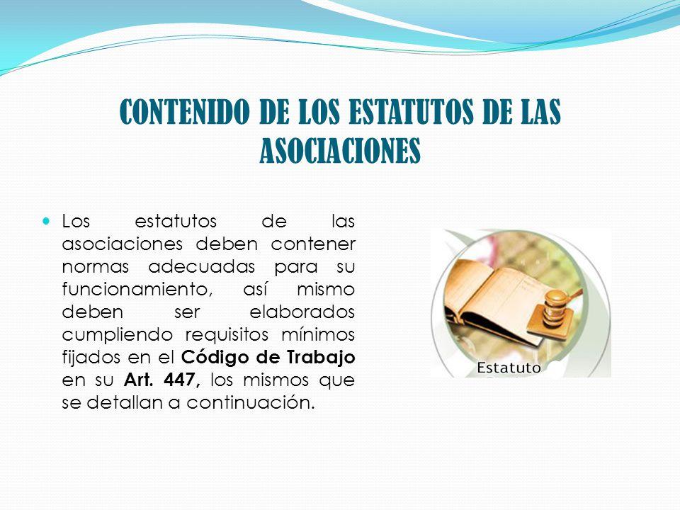 1.- Denominación Social y Domicilio del Sindicato o asociación.