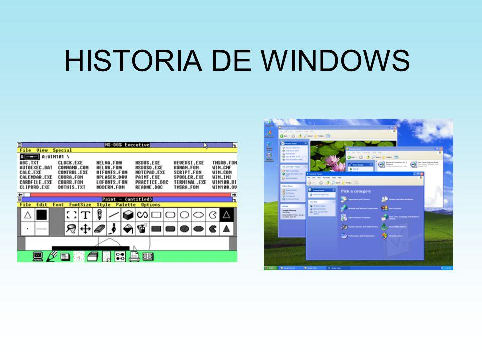 ÍNDICE 1.Introduccion 2.Windows 1.0 3.Windows 2.0 4.Windows 3.0 5.Windows NT 6.Windows 95 7.Windows 98 8.Windows 2000 9.Windows Me 10.Windows XP